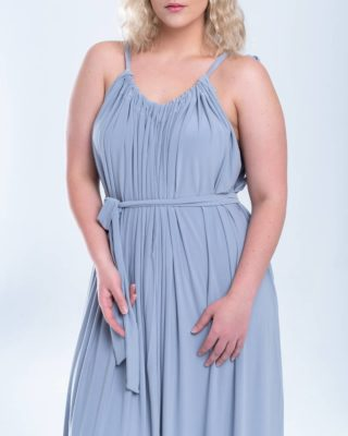 Dont be afraid to show your glorious shoulders this Summer. We have the perfect dress! Our dove grey maxi dress has a beautiful gathered Grecian silhouette, just add a pair of sandals for a classic daytime look. #InfinityDress #BodyPositiveZa #PlusSize #SizeAwesome #LiveYourBestPlusLife www.bodypositive.co.za Thank you for supporting small business