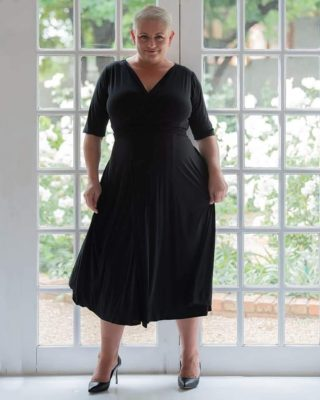 We work in shades of black, black black and black black black! 🤣 😘 😁 #LittleBlackDress #BodyPositiveZa #SizeAwesome #PlusSize #PlusSizeLoungeWear #PlusSizeDresses #PlusSizeStreetStyle #LoungeWear #StreetStyle #ShopLocal #SouthAfrica #SmallBusiness #LiveYourBestPlusLife #DressInConfidence